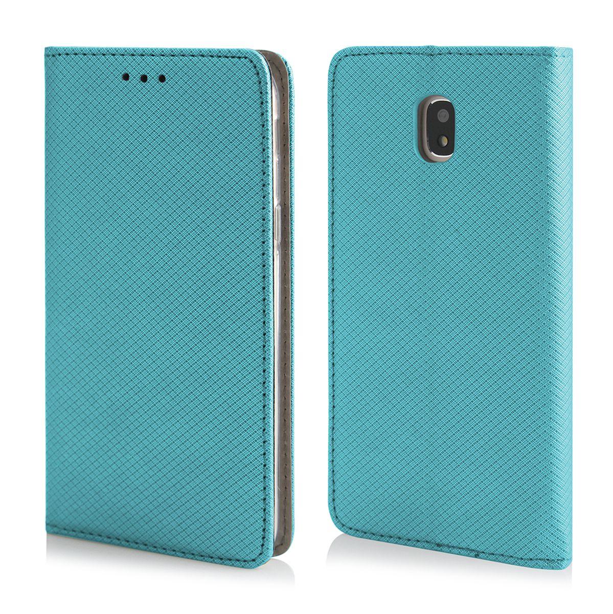 Pouzdro Sligo Smart pro Samsung J6 Plus - Magnet - tyrkysové Sligo Case