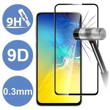 Premium 9D tvrzené sklo pro Samsung Galaxy A41 - 5908222202330 - černé Premium Tempered Glass