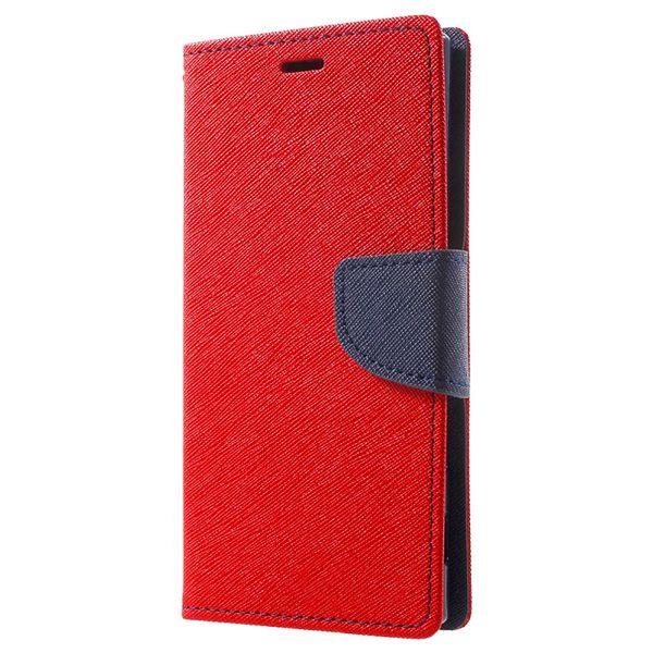 Pouzdro Fancy Case na Samsung A21s - červené