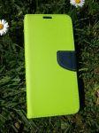 Pouzdro Fancy Case na LG K40 - zelená limetka