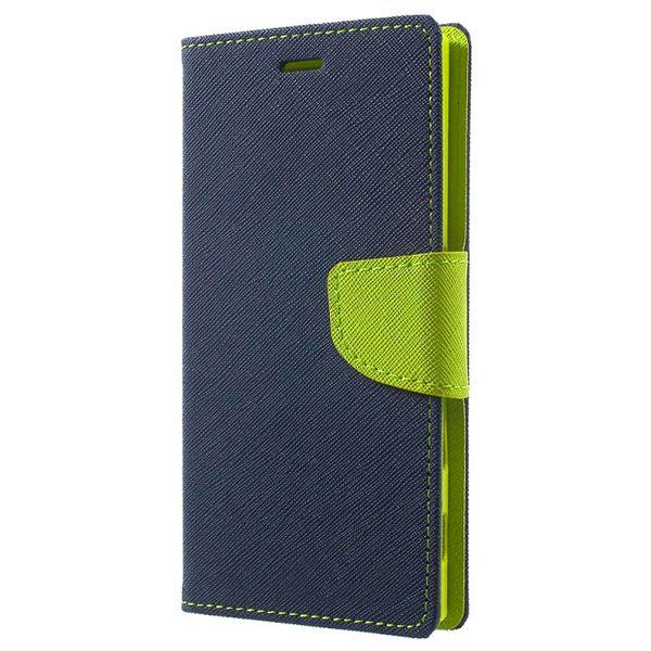 Pouzdro Fancy Case na Samsung M21 - tmavě modré