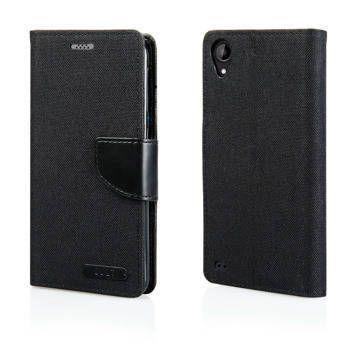 Pouzdro Fancy Case na Samsung M21 - černé
