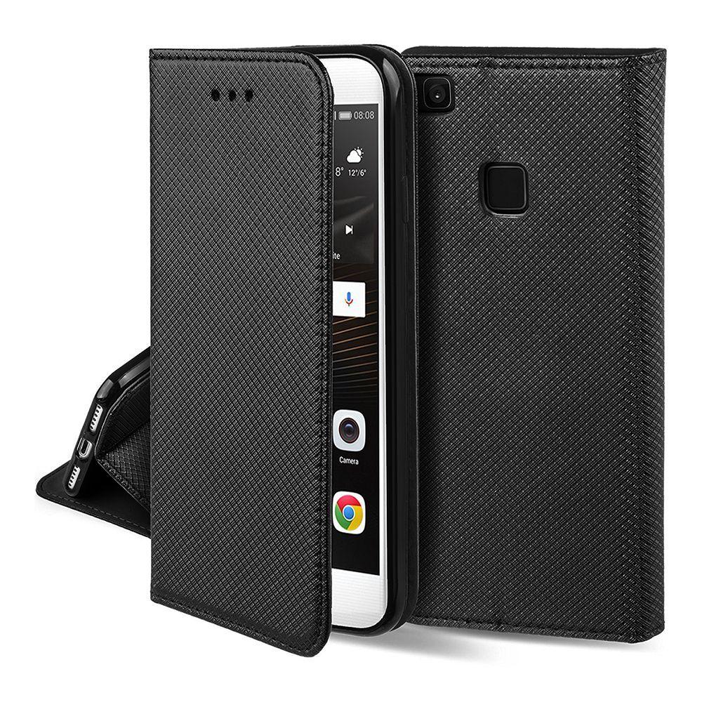 Pouzdro Sligo Smart na Huawei P40 Lite E - Power Magnet - černé Sligo Case