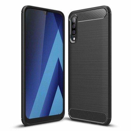 Pouzdro Jelly Case na Samsung M21 - Carbon LUX - černé