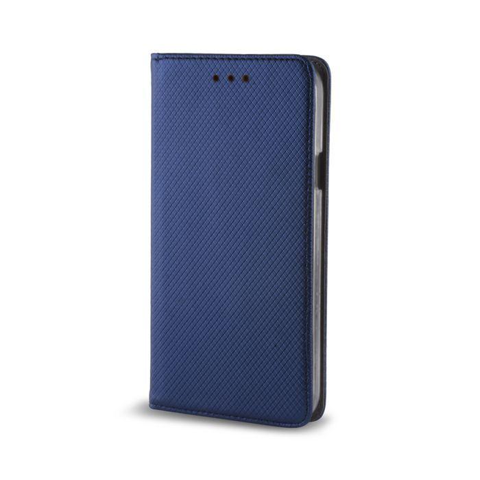 Pouzdro Sligo Smart na Huawei P40 Lite - Power Magnet - granátové Sligo Case