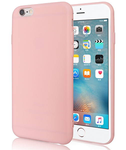 Pouzdro Jelly Case pro Xiaomi Redmi 4a - Matt - růžové