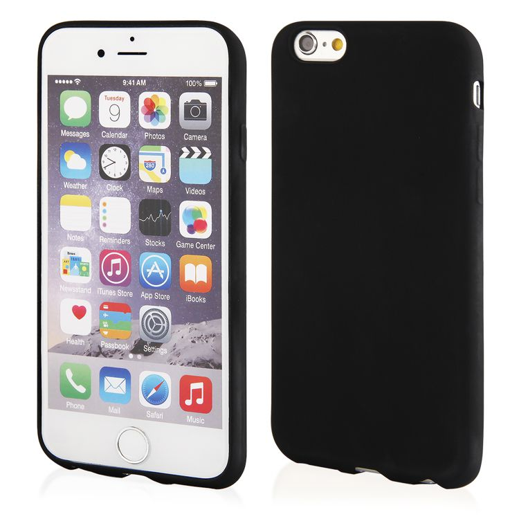 Pouzdro Jelly Case na Xiaomi Mi 6 - Matt černé