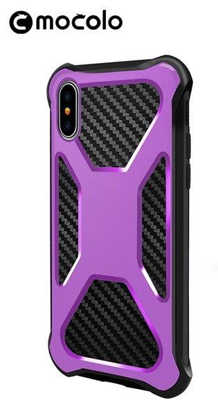 Mocolo pouzdro na iPhone X / XS - Urban Defender - fialové