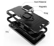 Pouzdro Armor Ring Case na Huawei P Smart 2020 - Hybrid - černé Armor Case
