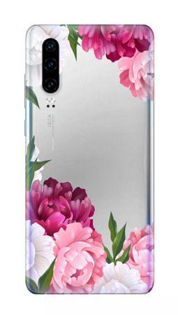 Pouzdro Casegadget pro LG K10 2018 / K11 - květy - čiré