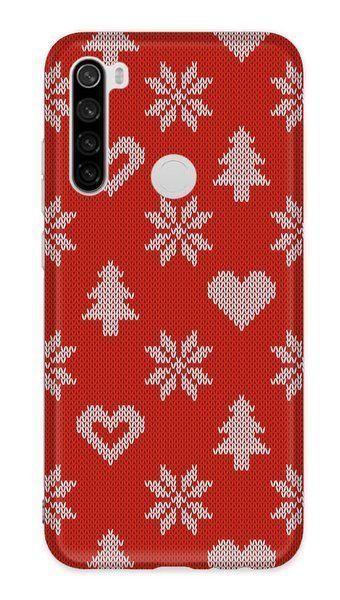 Pouzdro Casegadget pro Xiaomi Redmi 8A - srdce - červené