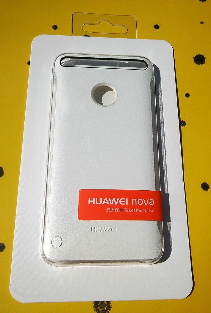 Pouzdro Faceplate 51991764 na Huawei Nova - Jelly - bílé