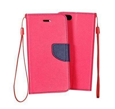 Pouzdro Fancy Case na Huawei LG Spirit - růžové