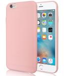 Pouzdro Jelly Case na iPhone XS Max - Matt - růžové