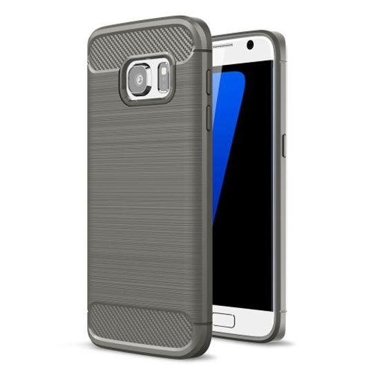 Pouzdro Jelly Case na Nokia 3 - Carbon LUX - šedé