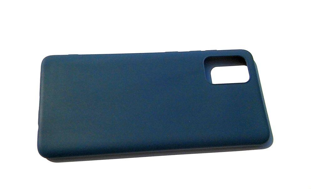 Pouzdro Jelly Case na Samsung A71 - Candy - modré