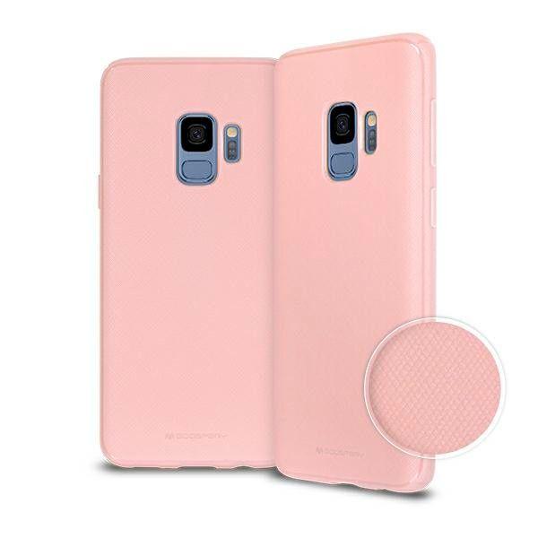 Pouzdro na Samsung A5 / A8 2018 - Mercury Style Lux - růžové Blink Case