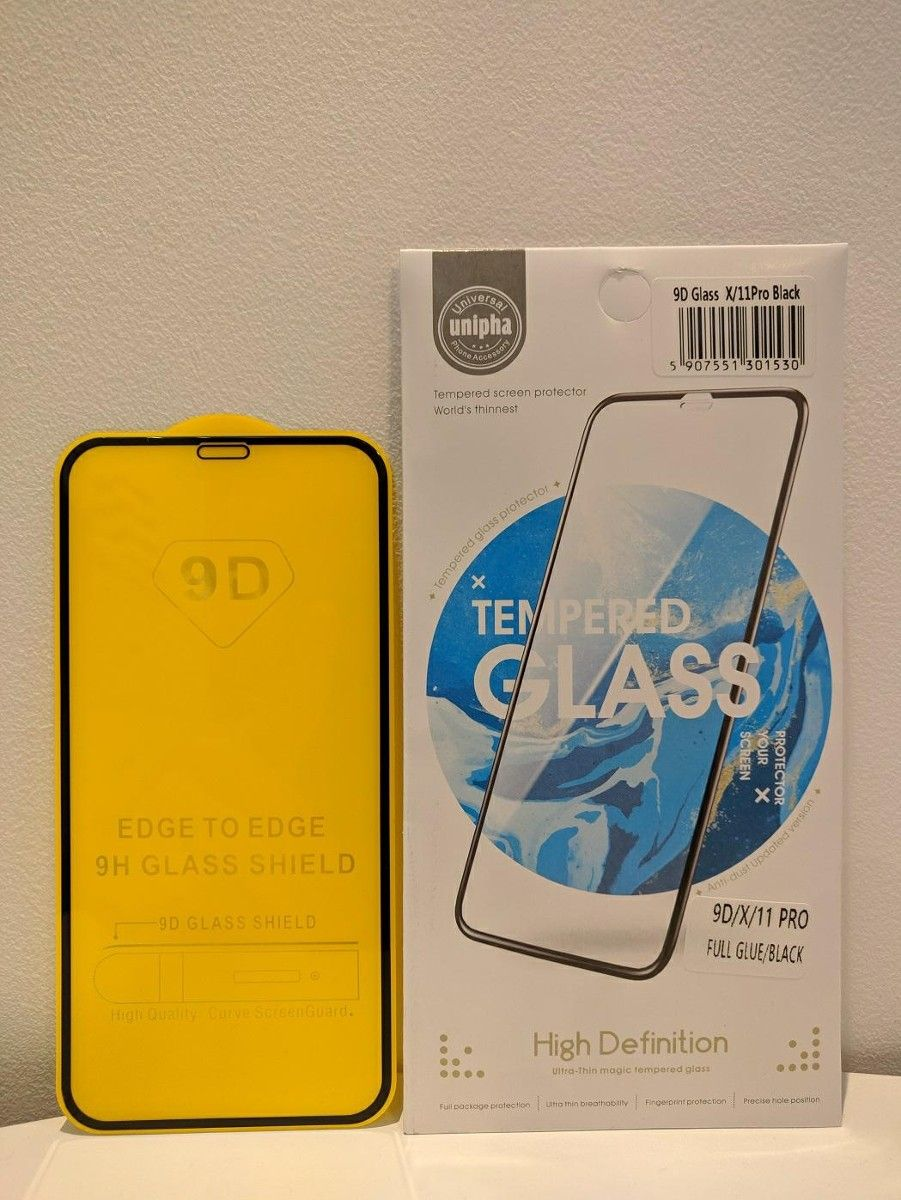 Unipha 9D tvrzené sklo pro Samsung A51 A515 - 5907551302704 - černé