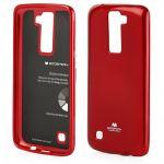Pouzdro Goospery Mercury Jelly na Huawei P40 Lite - červené