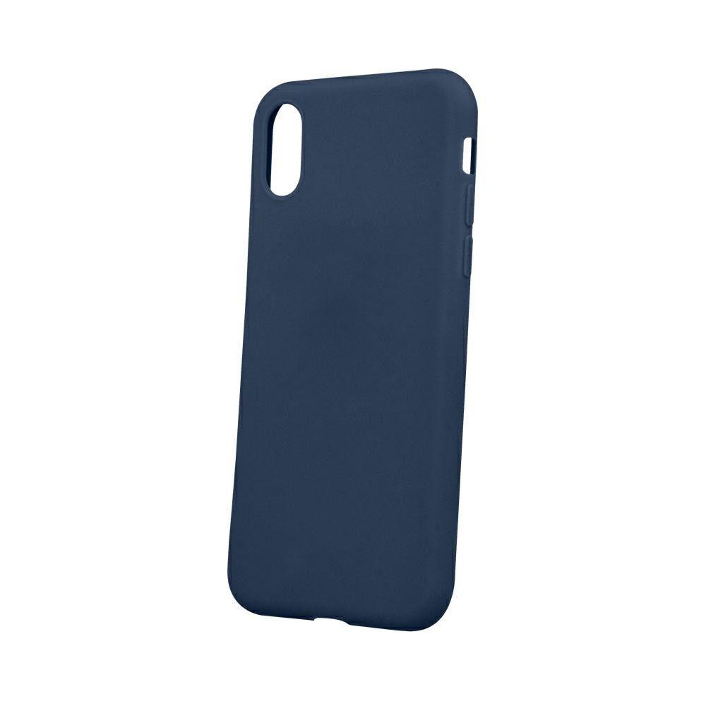 Pouzdro Jelly Case na Huawei P30 Lite - Matt - tmavě modré