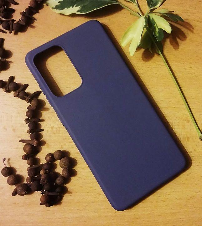 Jelly Case na Samsung Galaxy A52 - Matt - granátové