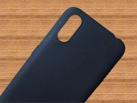 Pouzdro Jelly Case na Samsung A01 - Matt - granátové