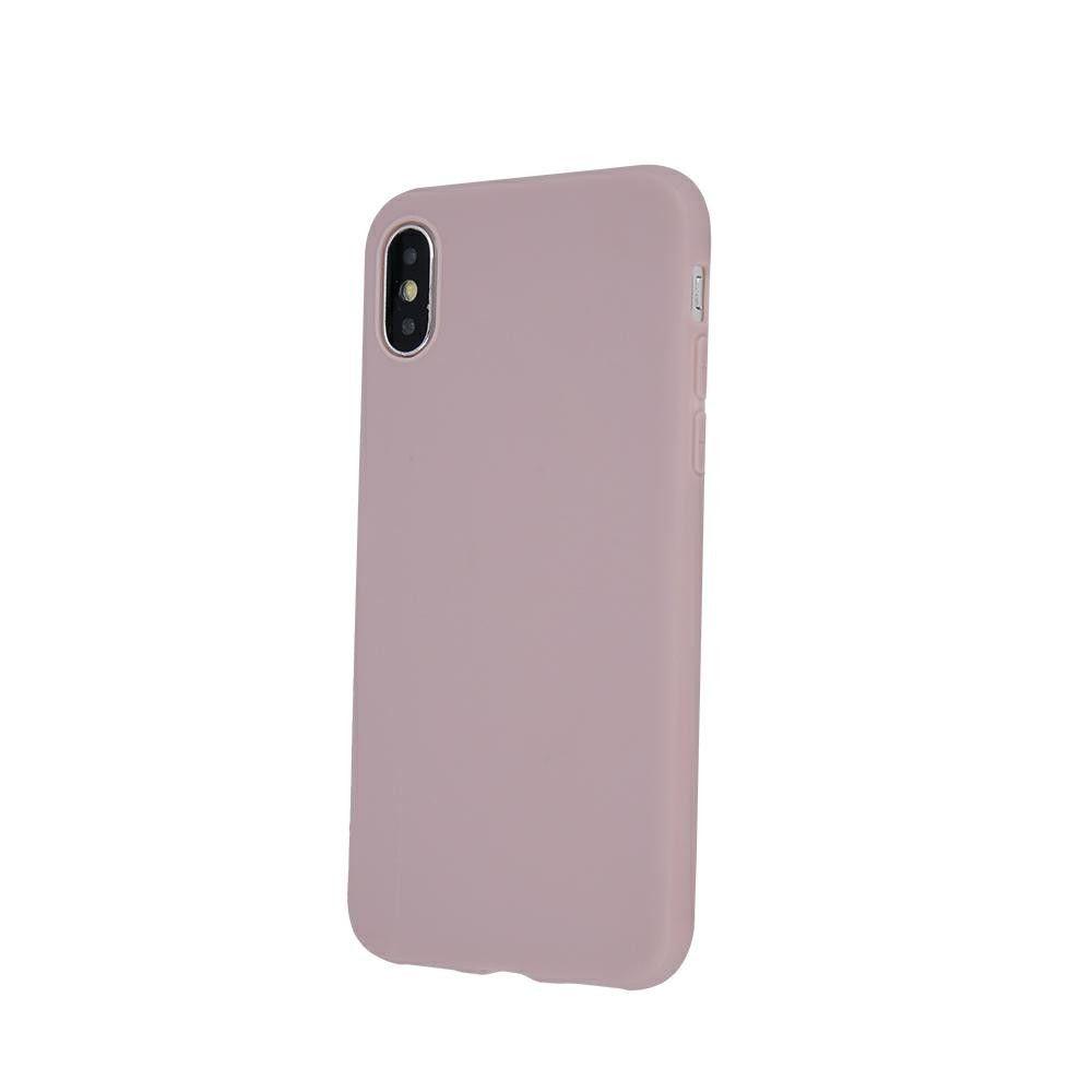 Pouzdro Jelly Case na Samsung A10 - Matt - pískově růžové