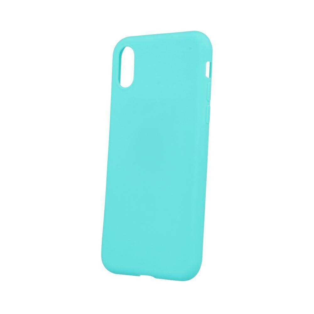Pouzdro Jelly Case na Samsung A21s - Matt - tyrkysové