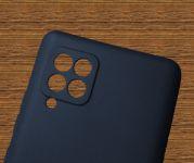 Pouzdro Jelly Case na Samsung A42 5G - Matt - granátové
