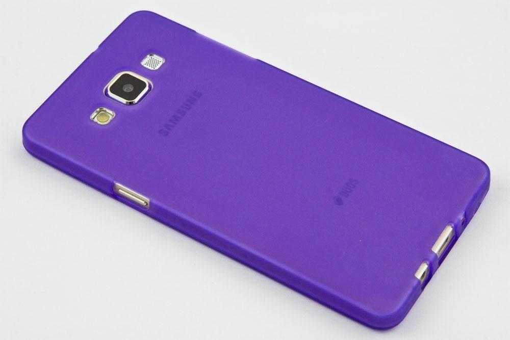 Pouzdro Jelly Case na Sony Xperia XZ - Matt - fialové