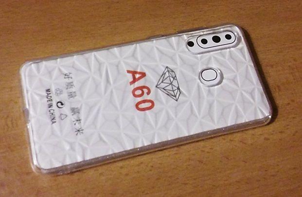Pouzdro Jelly na Samsung A60 - Brick Stone - čiré Jelly Case