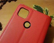 Pouzdro Sligo Smart pro Xiaomi Redmi 9C - Magnet - červené Sligo Case
