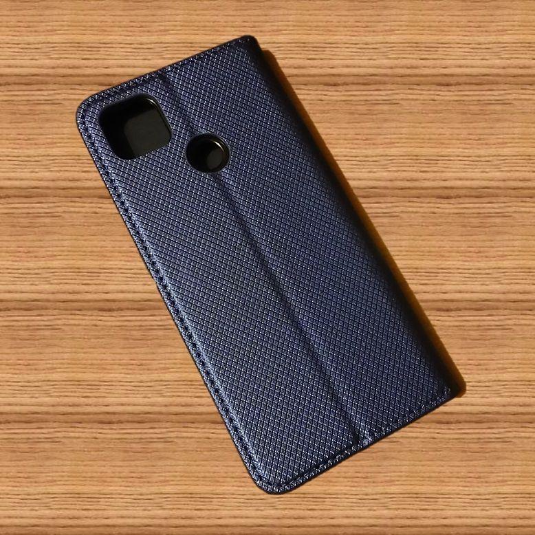 Pouzdro Sligo Smart pro Xiaomi Redmi 9C - Magnet - granátové Sligo Case