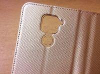 Pouzdro Sligo Smart pro Xiaomi Redmi Note 9 - Magnet - zlaté Sligo Case