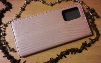 Pouzdro Sligo Smart pro Samsung A02s - Magnet - zlatorůžové Sligo Case