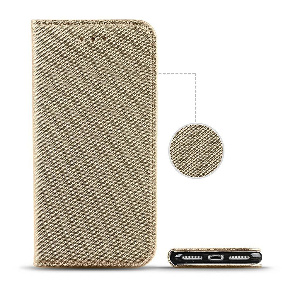 Pouzdro Sligo Smart na Samsung S9 G960 - Power Magnet - zlaté Sligo Case