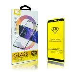 6D Mini Size Tvrzené sklo pro Realme 7 - černé - 5902280609438