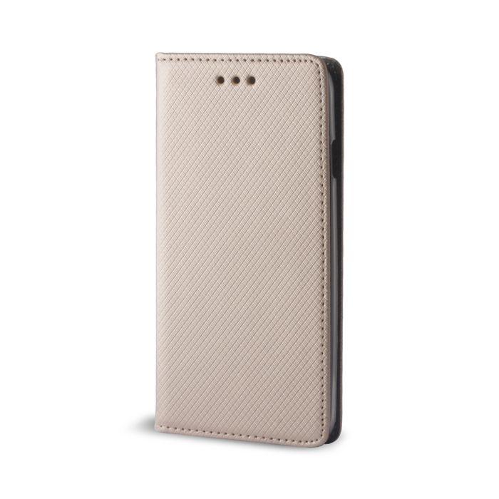 Pouzdro Sligo Smart pro Samsung J7 J730 2017 Magnet zlaté Sligo Case