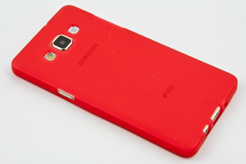 Pouzdro Jelly Case na Huawei P8 - Matt - červené