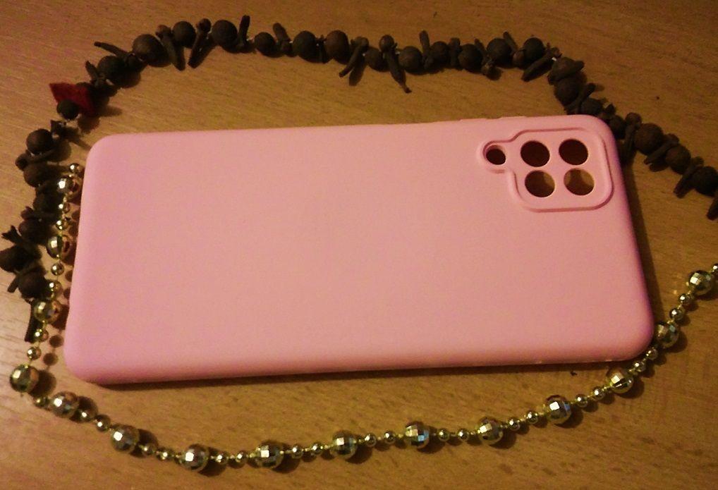 Pouzdro Jelly Case na Samsung A12 - Silicon - světle růžové