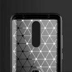 Pouzdro Jelly Case na Xiaomi Redmi 8 - Carbon LUX - černé
