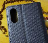 Pouzdro Sligo Smart pro Samsung A01 - Magnet - granátové