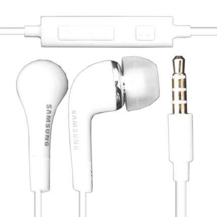 HF Stereo sluchátka Samsung EHS64AVFWEWH White Bulk 3.5m
